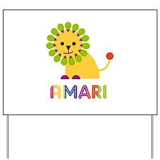 Amari the Lion Yard Sign