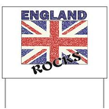 BRITISH FLAG Yard Sign