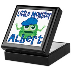 Little Monster Albert Keepsake Box