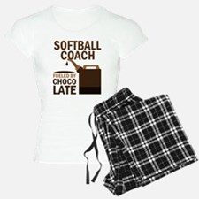 Softball Coach (Funny) Gift Pajamas