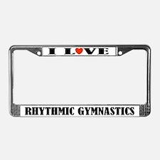 Rhythmic Gymnastics License Plate Frame