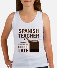 Spanish Teacher (Funny) Gift Women's Tank Top