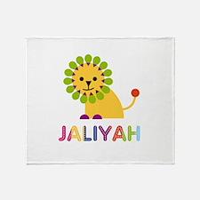 Jaliyah the Lion Throw Blanket