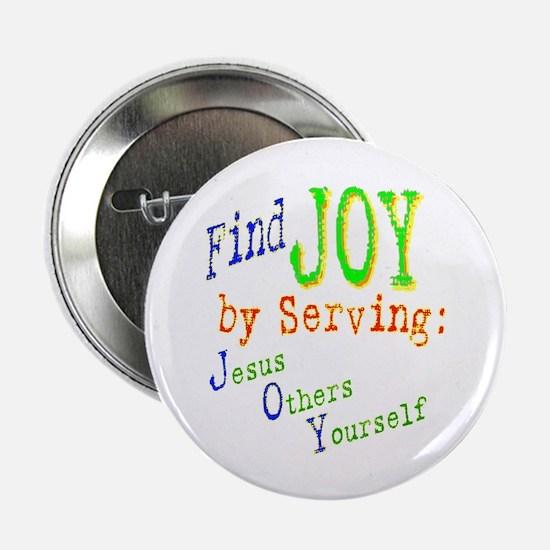 Find Joy in serving Jesus Oth Button