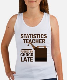 Statistics Teacher (Funny) Gift Women's Tank Top