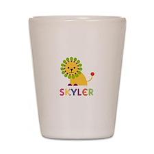 Skyler the Lion Shot Glass