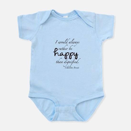 Rather Be Happy Infant Bodysuit