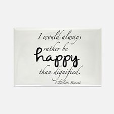 Rather Be Happy Rectangle Magnet
