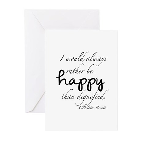 Rather Be Happy Greeting Cards (Pk of 20)