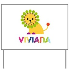 Viviana the Lion Yard Sign