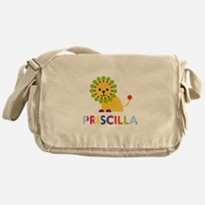 Priscilla the Lion Messenger Bag