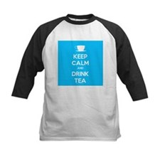 Keep Calm & Drink Tea (Light Blue) Tee