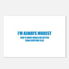 Always Modest Postcards (Package of 8)