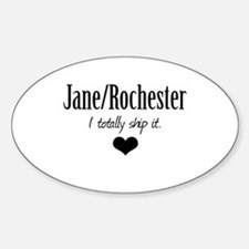 Jane/Rochester Sticker (Oval)
