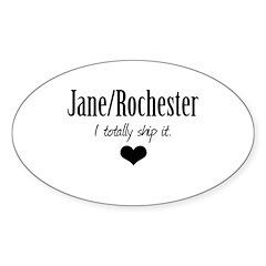 Jane/Rochester Sticker (Oval 50 pk)