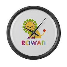 Rowan the Lion Large Wall Clock