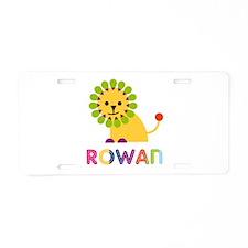 Rowan the Lion Aluminum License Plate