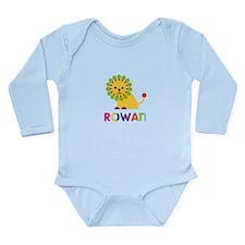 Rowan the Lion Long Sleeve Infant Bodysuit