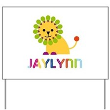 Jaylynn the Lion Yard Sign