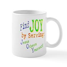 Find Joy in serving Jesus Oth Mug