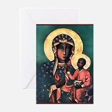 Black Madonna Greeting Cards (Pk of 10)