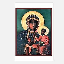 Black Madonna Postcards (Package of 8)