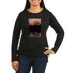 Lion Sands Sunset Women's Long Sleeve Dark T-Shirt