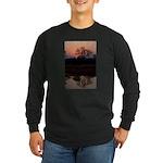 Lion Sands Sunset Long Sleeve Dark T-Shirt