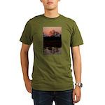 Lion Sands Sunset Organic Men's T-Shirt (dark)