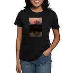 Lion Sands Sunset Women's Dark T-Shirt