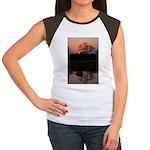 Lion Sands Sunset Women's Cap Sleeve T-Shirt