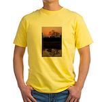 Lion Sands Sunset Yellow T-Shirt