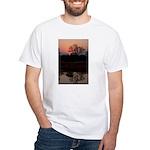 Lion Sands Sunset White T-Shirt