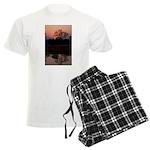 Lion Sands Sunset Men's Light Pajamas