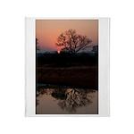 Lion Sands Sunset Throw Blanket