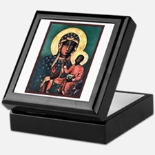 Black Madonna Keepsake Box