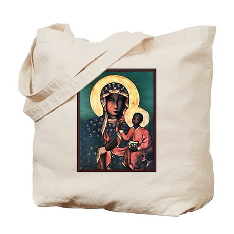 Black Madonna Tote Bag