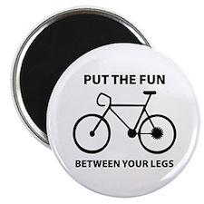 Fun between your legs. Magnet