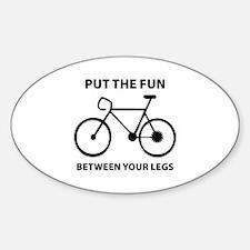 Fun between your legs. Decal