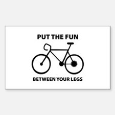 Fun between your legs. Decal