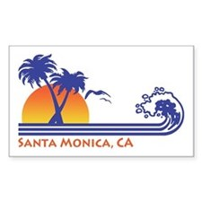 Santa Monica Decal