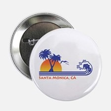 "Santa Monica 2.25"" Button"