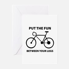 Fun between your legs. Greeting Cards (Pk of 10)