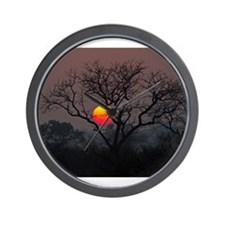 Londolozi Sunset Wall Clock