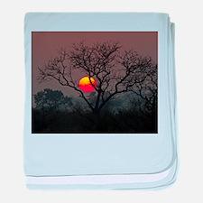 Londolozi Sunset baby blanket