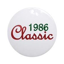 Cute 1986 Ornament (Round)