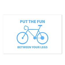Fun between your legs. Postcards (Package of 8)