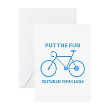 Fun between your legs. Greeting Card