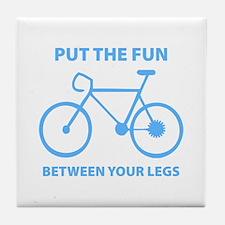 Fun between your legs. Tile Coaster