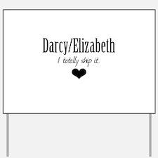 Darcy/Elizabeth Yard Sign
